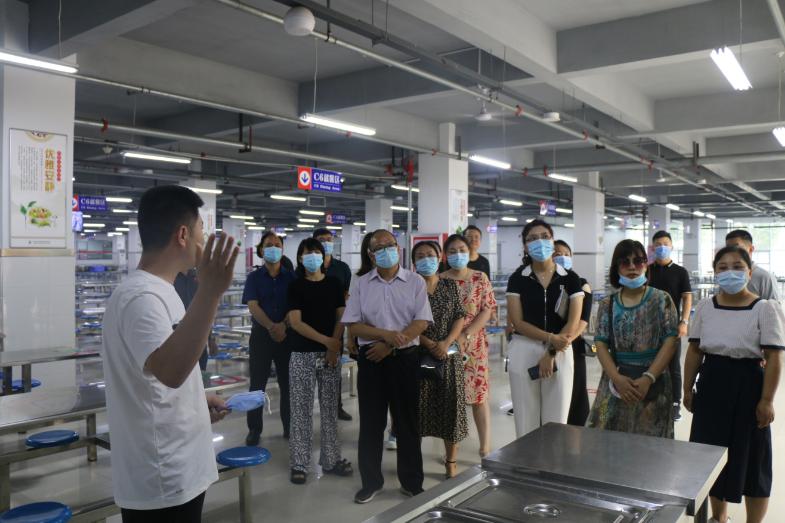 邯鄲進行省級校園標準食堂開放日活動