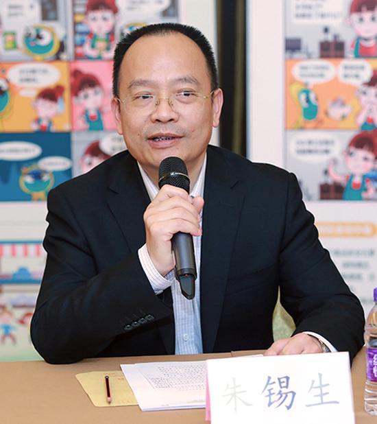 中国儿童少年基金会秘书长朱锡生出席活动并致辞