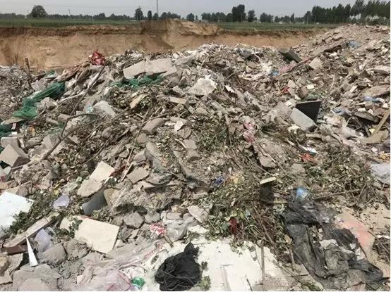 耕地被挖 垃圾回填 河北行唐百亩农田惨遭破坏