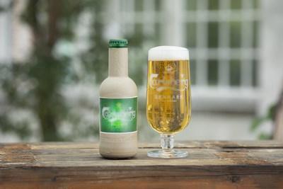 """神奇!嘉士伯研發""""紙""""啤酒瓶"""